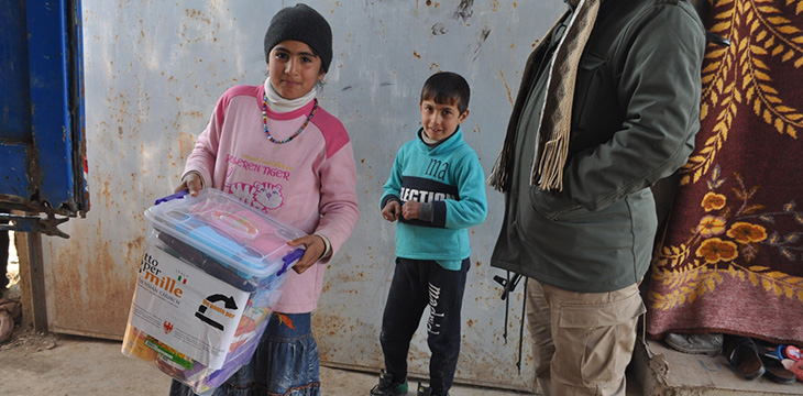 Mosul distributions