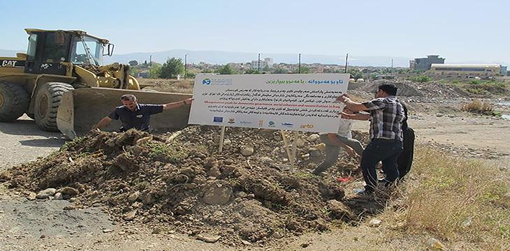 Water Rights Group Kurdistan Blocking Car Wash Spot