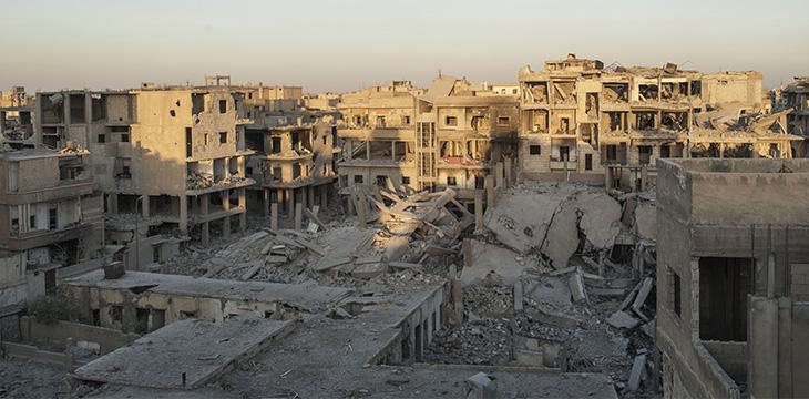 Raqqa, come l'abbiamo trovata. Foto di Alessio Romenzi.