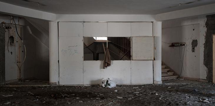 L'ospedale di Raqqa nelle condizioni in cui lo abbiamo trovato. Foto di Linda Dorigo