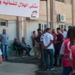 L'inaugurazione dell'ospedale di Raqqa. Settembre 2018. Foto di Linda Dorigo.