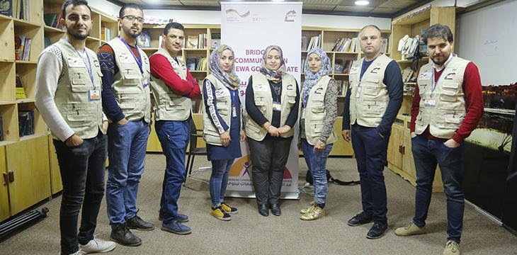 Il nostro Conflict Prevention Team (CPT) di Mosul.