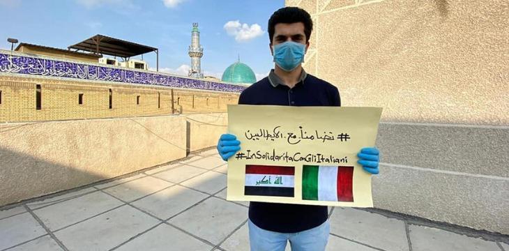 solidarietà iraq foto