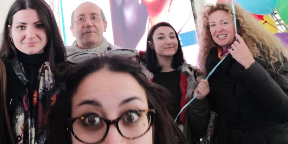 Attivisti e attiviste del Comitato di Napoli, 2019