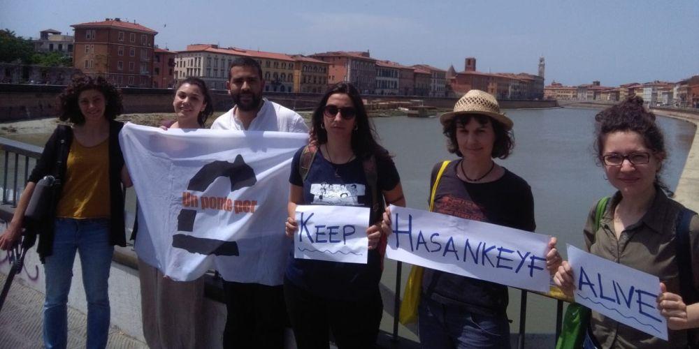 Attiviste e attivisti del Comitato toscano, 2015